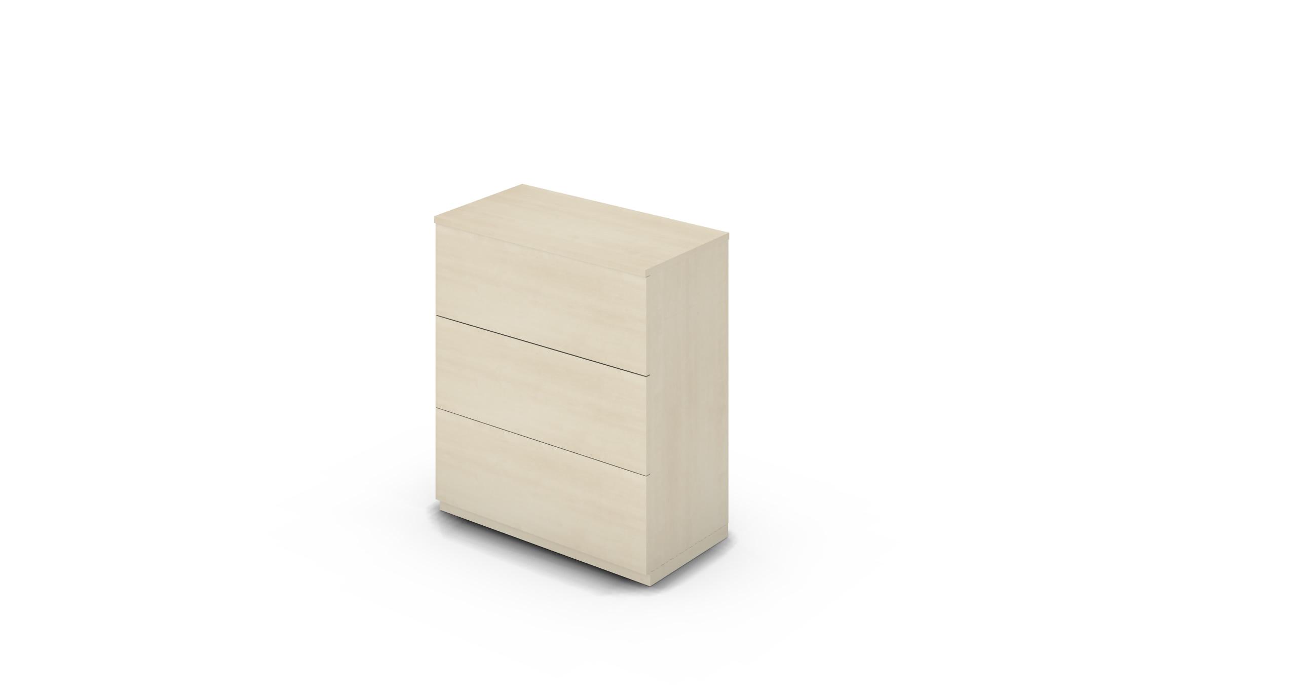 Cabinet_900x450x1125_DR_Maple_Push_NoCylinder