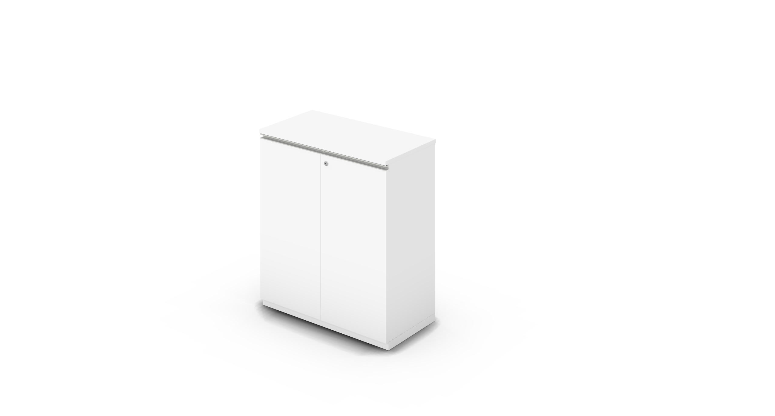 Cabinet_900x450x1125_HD_White_Rail_WithCylinder