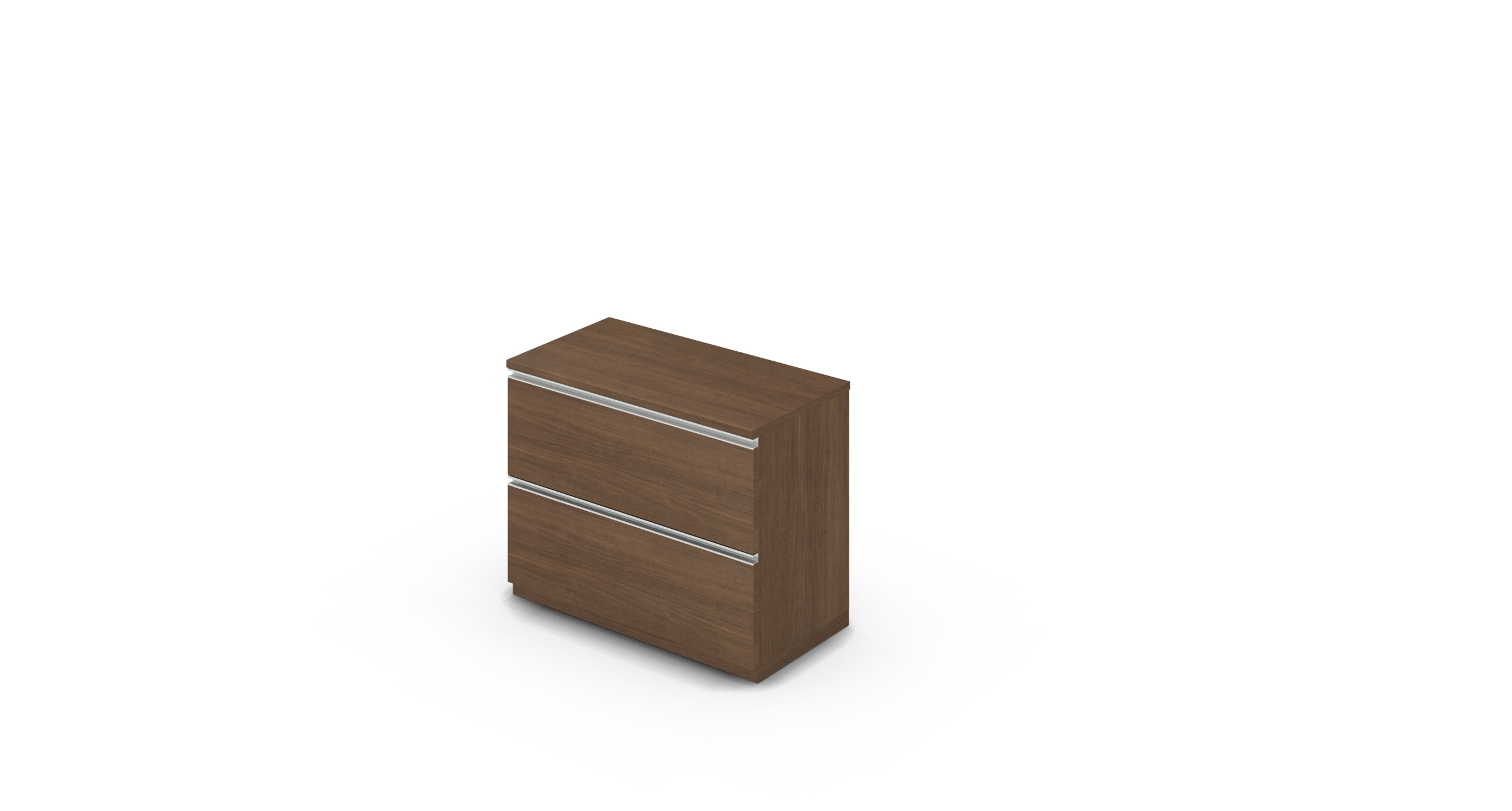 Cabinet_900x450x775_DR_Walnut_Rail_NoCylinder