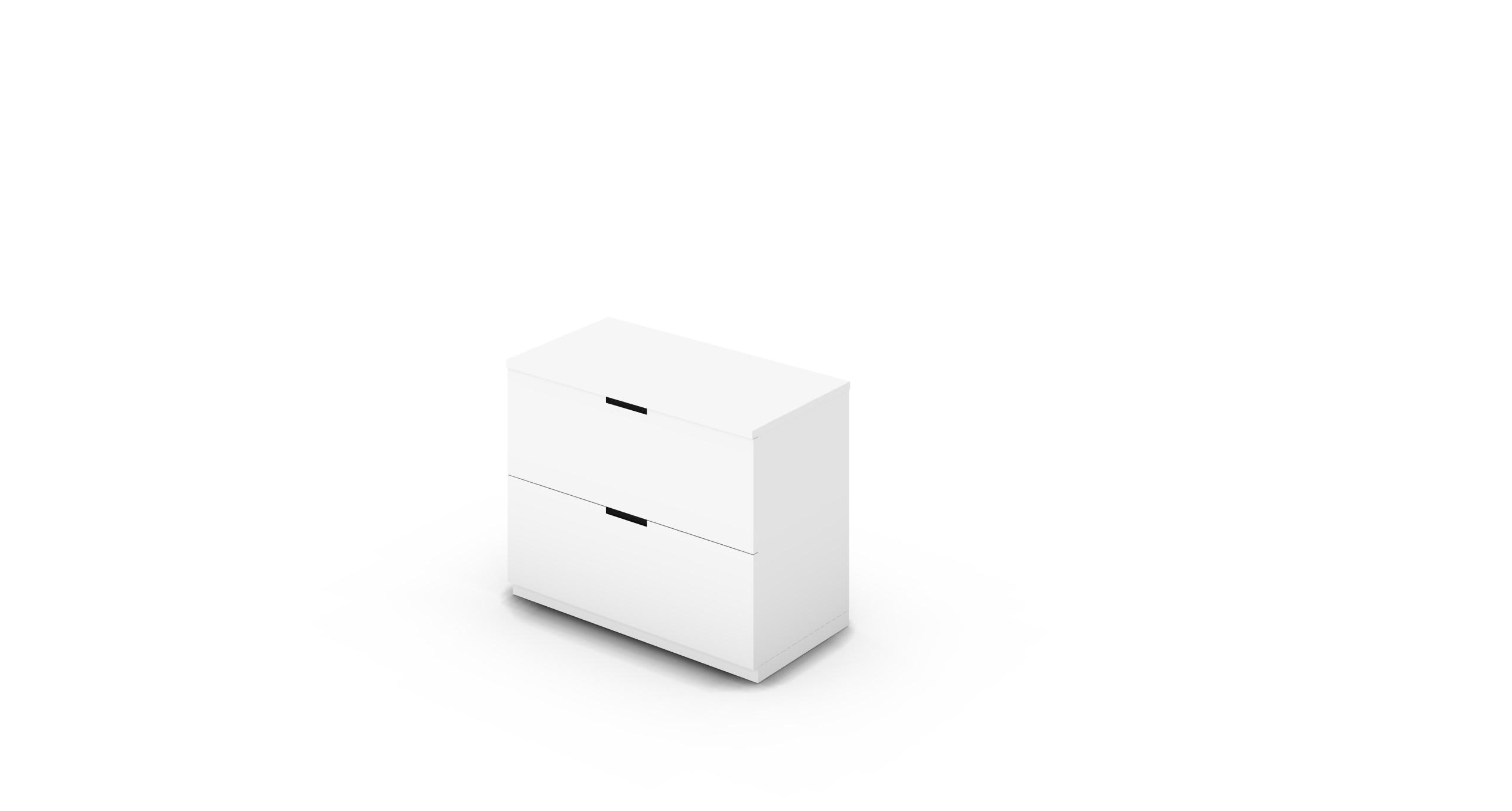 Cabinet_900x450x775_DR_White_CutOut_NoCylinder