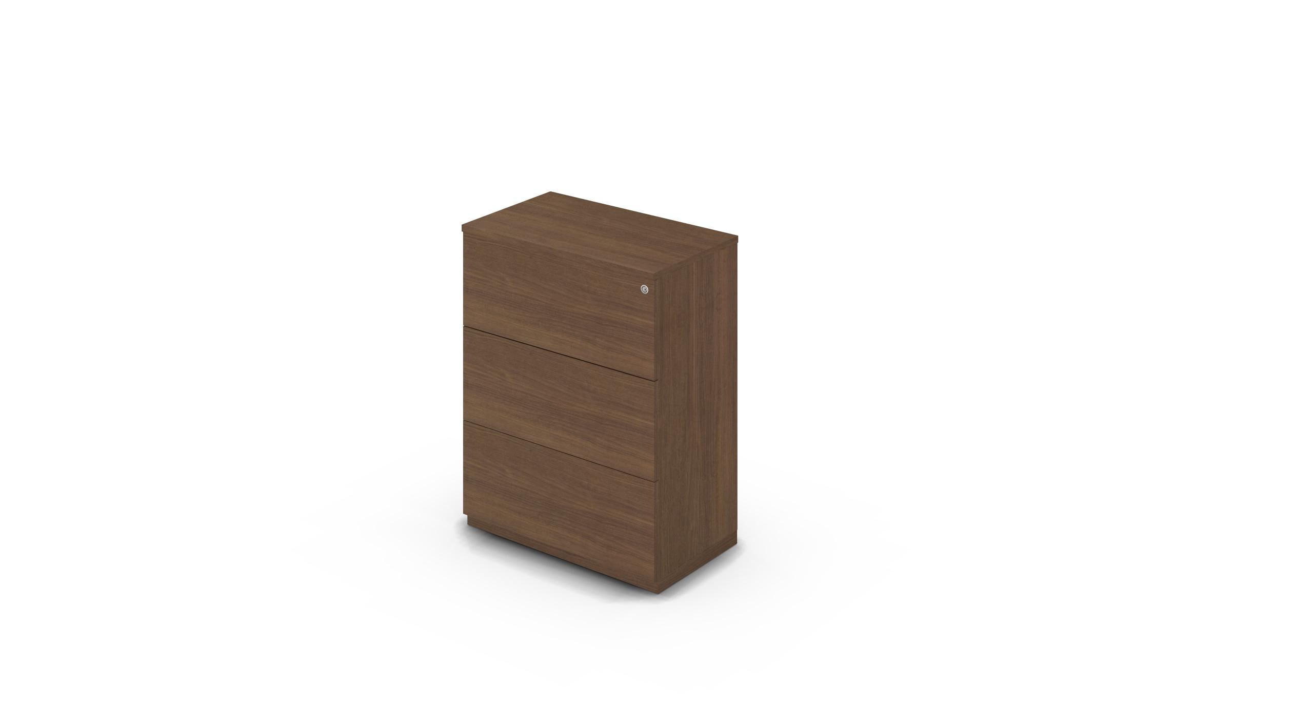 Cabinet_800x450x1125_DR_Walnut_Push_WithCylinder