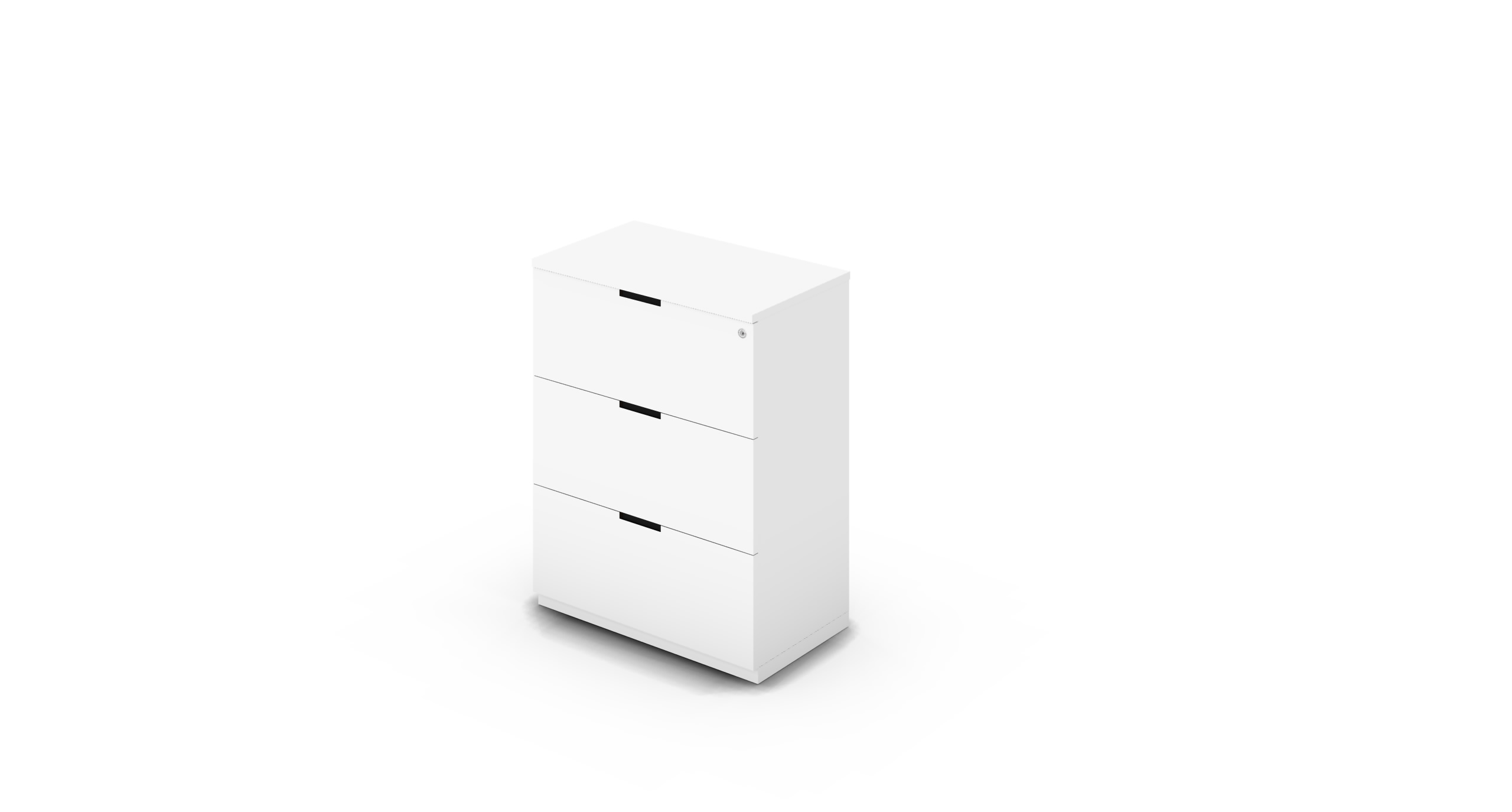 Cabinet_800x450x1125_DR_White_CutOut_WithCylinder
