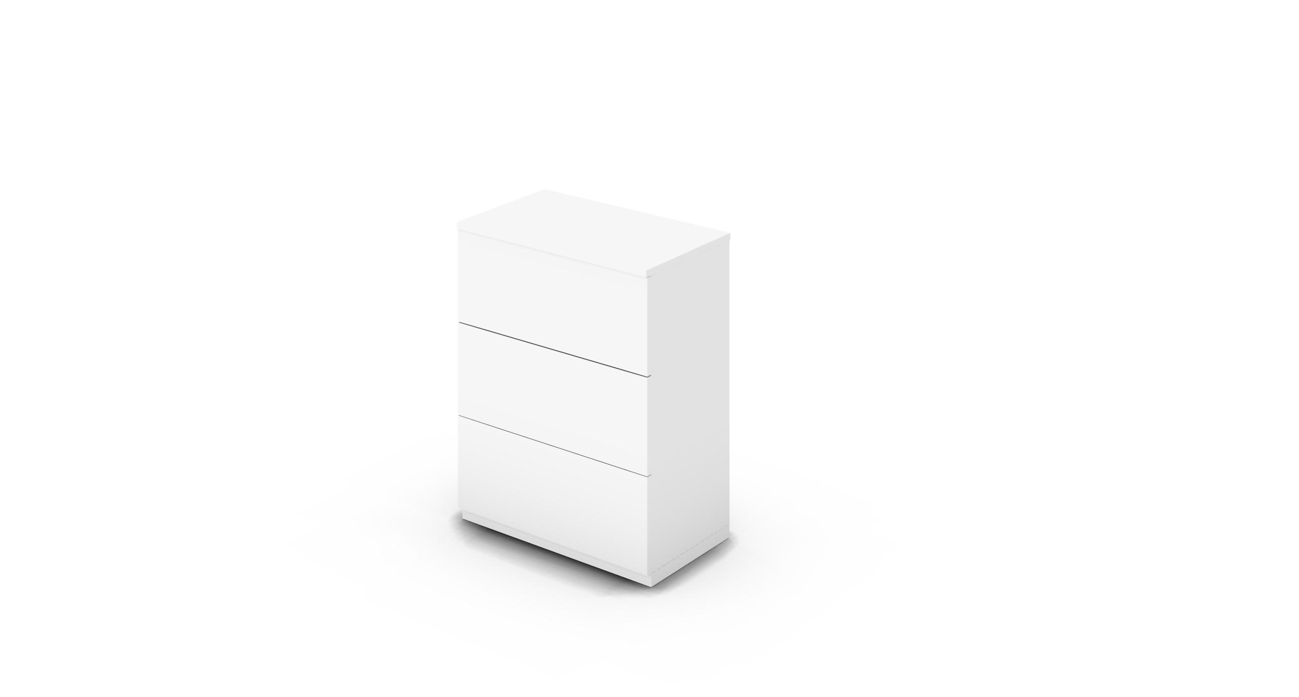 Cabinet_800x450x1125_DR_White_Push_NoCylinder