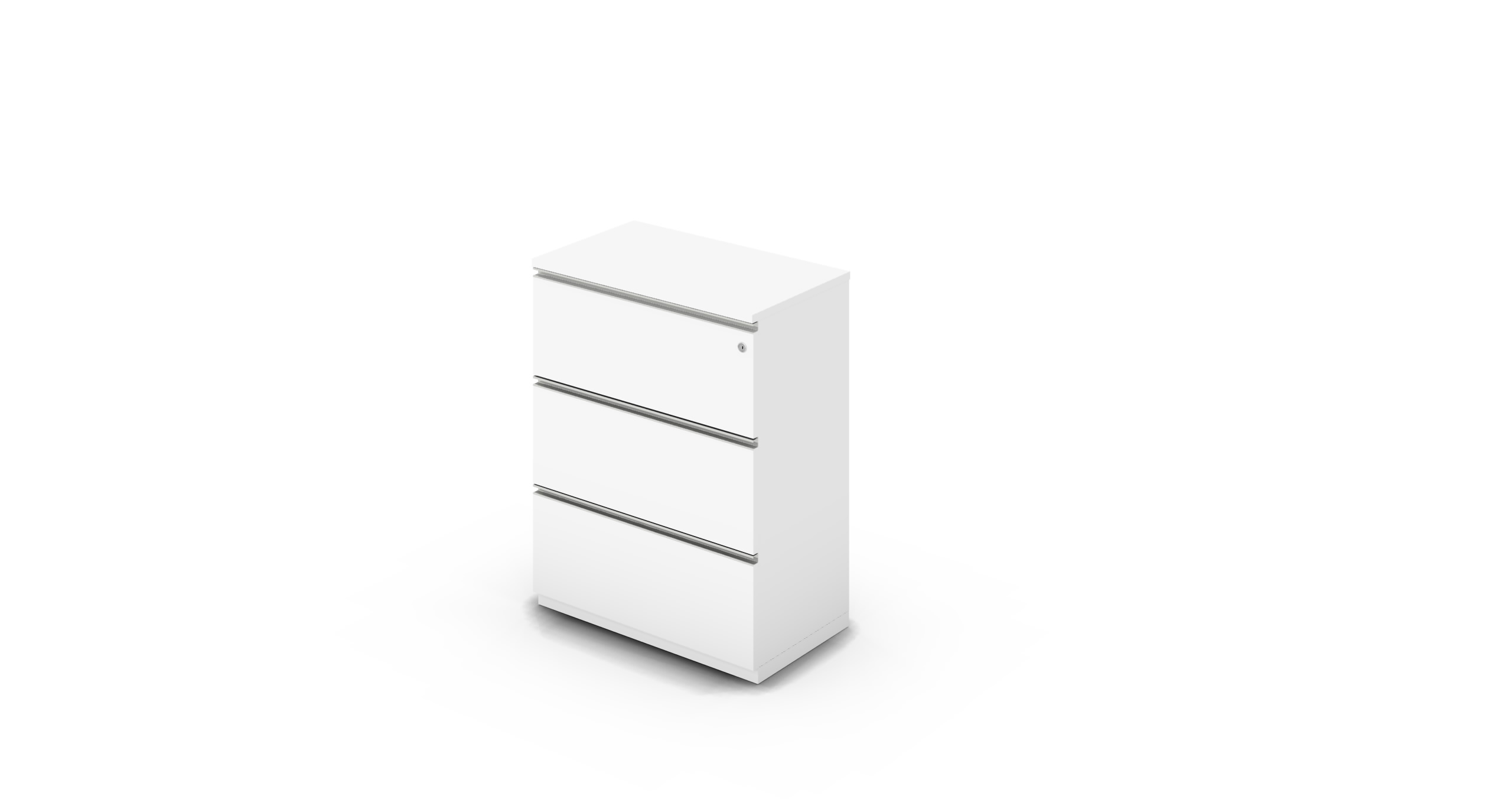 Cabinet_800x450x1125_DR_White_Rail_WithCylinder