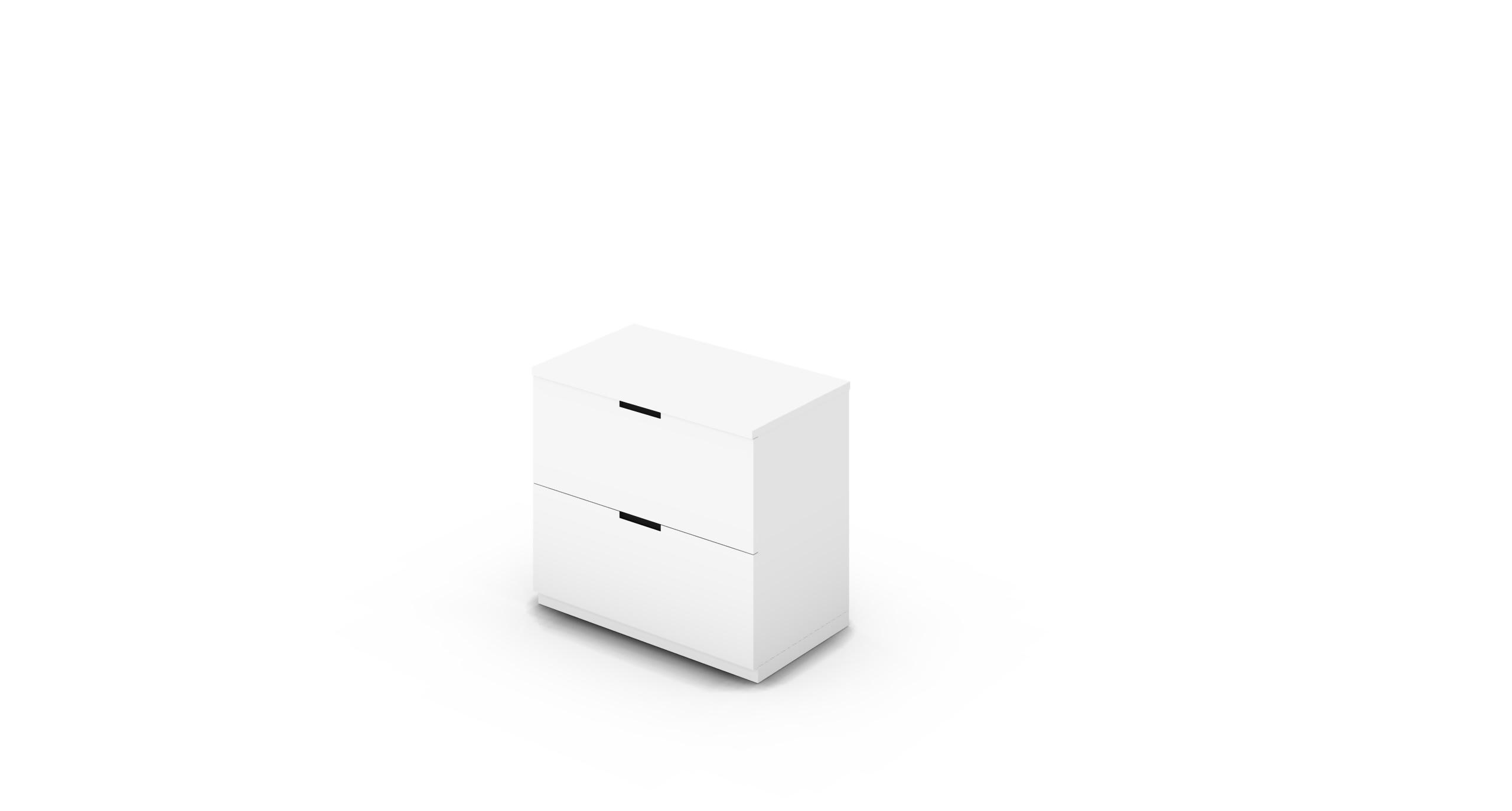 Cabinet_800x450x775_DR_White_CutOut_NoCylinder