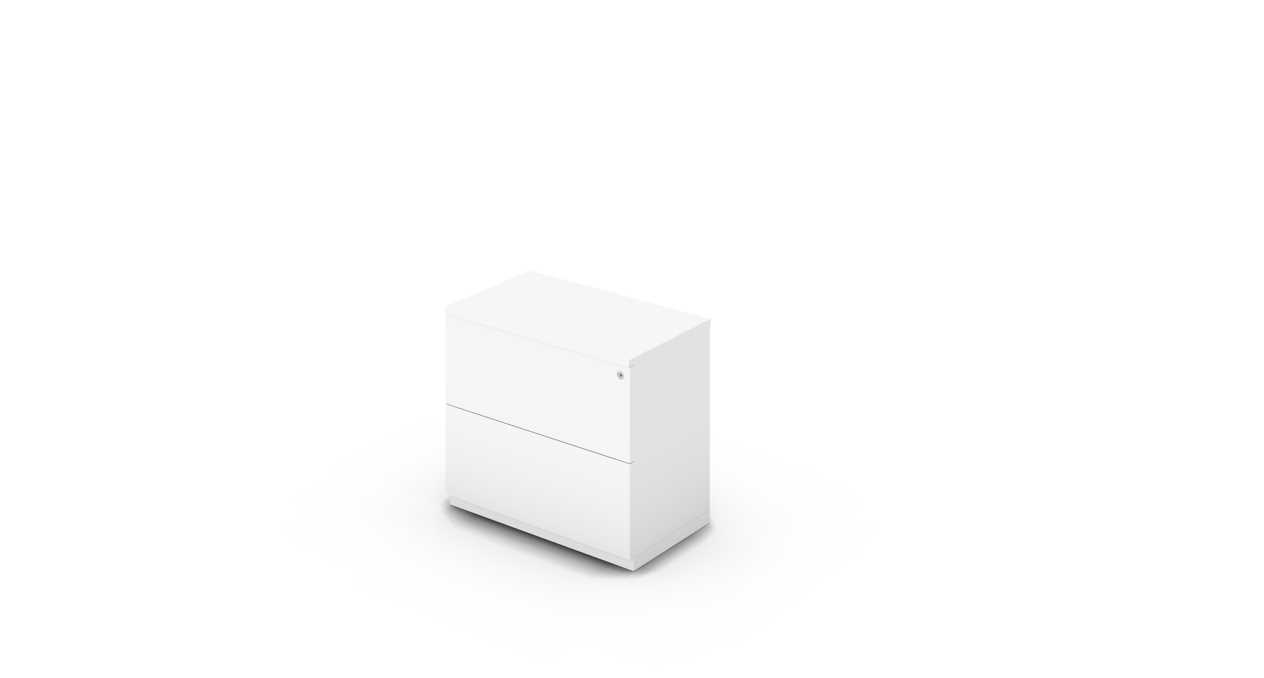 Cabinet_800x450x775_DR_White_Push_WithCylinder