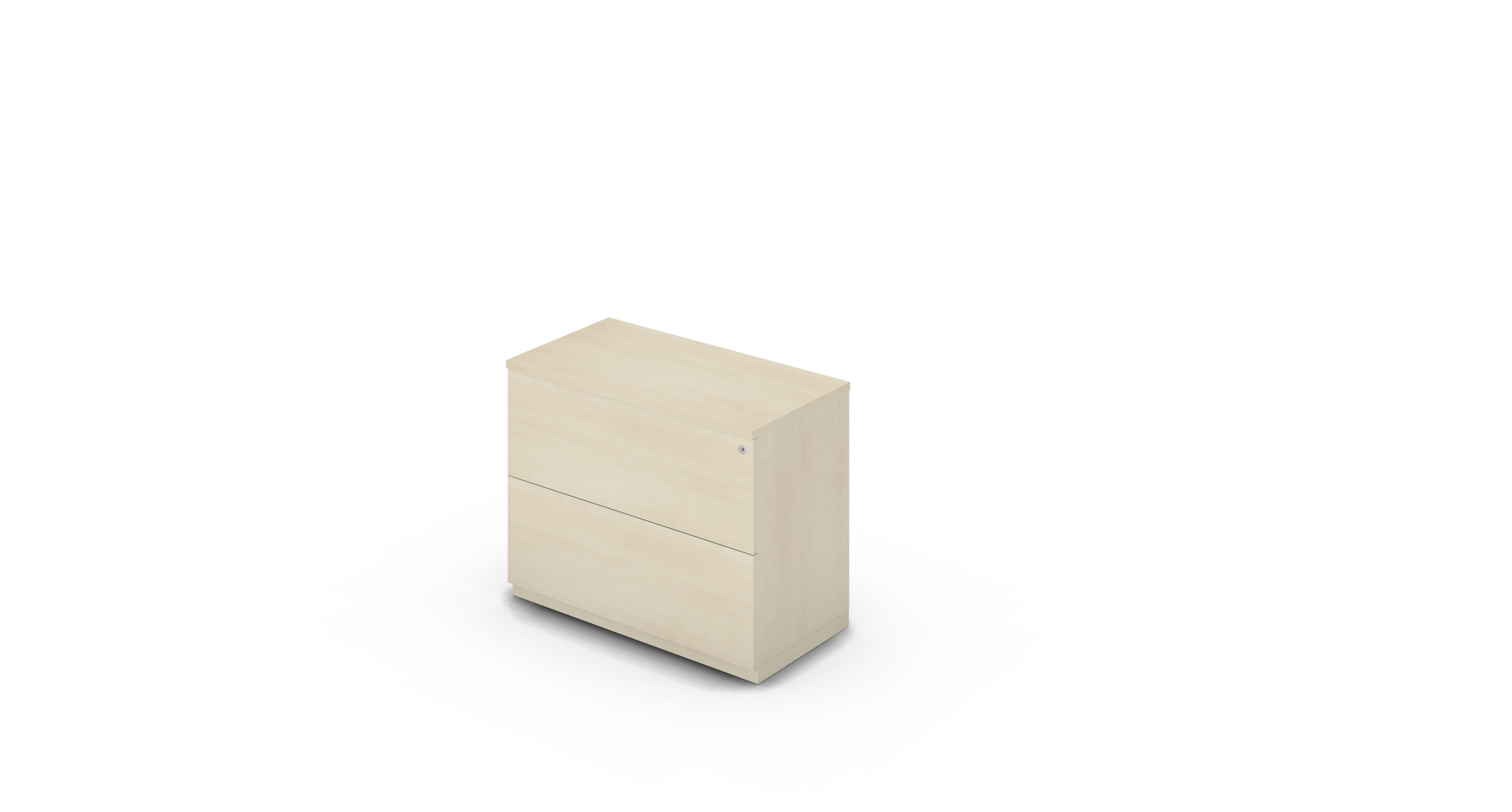 Cabinet_900x450x775_DR_Maple_Push_WithCylinder